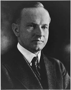 And for some reason, it's never, ever related to Calvin Coolidge. WHAT GIVES?
