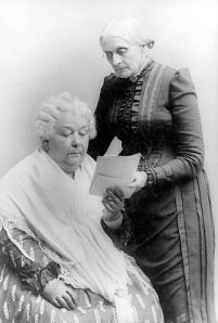 Elizabeth Cady Stanton and Susan B. Anthony could beat me up.