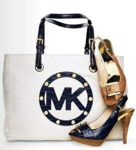 Don't confuse this Michael Kors bag with the poet Michael Kors Bag, as they are probably not the same thing. Probably.