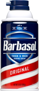 Barbasol isn't paying me to say this or anything. I just really believe in their product.
